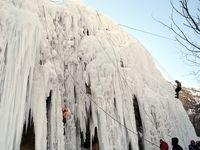 آبشار یخی هملون کجاست؟ +عکس