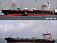 نخستین ویدئو از نفتکشهای منفجر شده در دریای عمان