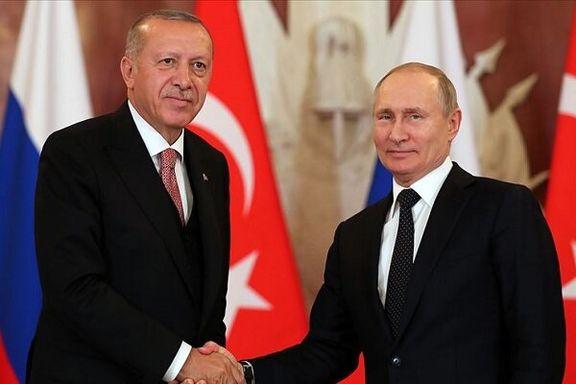 پوتین در تدارک سفر به ترکیه است