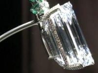 حراج یک الماس نادر در کریستی