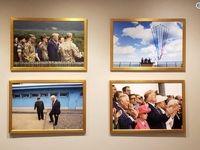 تصویر رهبر کره شمالی روی دیوار کاخ سفید +عکس