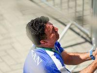اشکهای محمد بنا بعد از ناکامی کشتی فرنگی +عکس