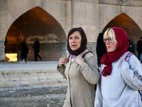 گردشگران خارجی در اصفهان +تصاویر