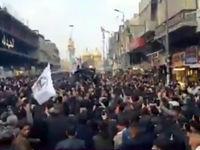 عزاداران عراقی: خون ابومهدی المهندس هدر نمیرود +فیلم