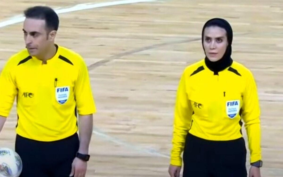 قضاوت ۲داور ایرانی در افتتاحیه جام جهانی فوتسال