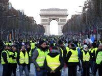 برخورد خشن پلیس فرانسه با زن معترض +فیلم