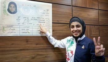 پاسخ دختر قهرمان ۱۸ ساله به هادی ساعی! +عکس