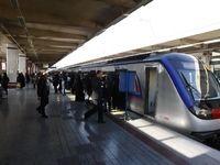 وضعیت متروی تهران در روزهای کرونایی +فیلم