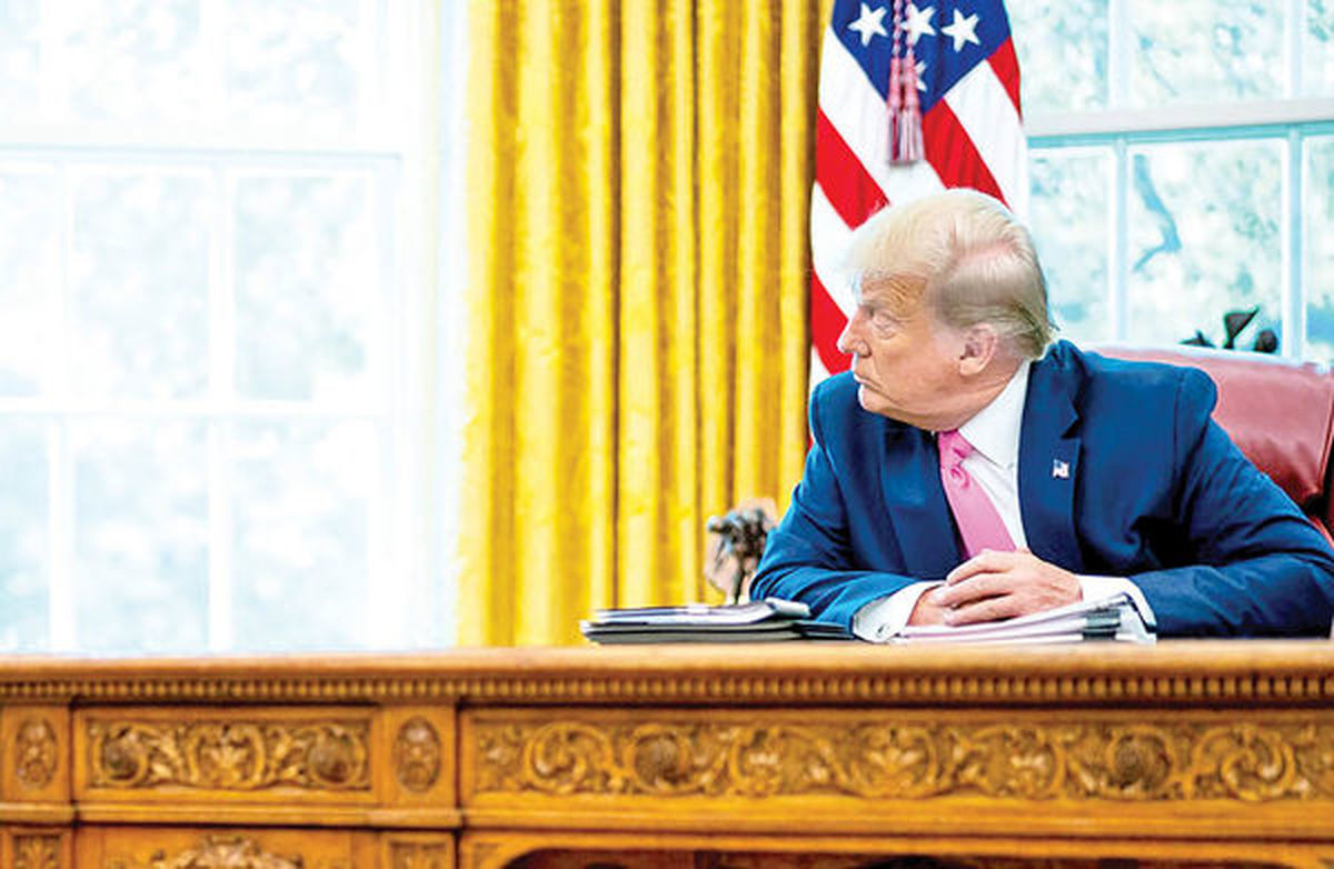 ترس ترامپ از باخت در سوم نوامبر