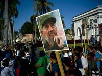 برگزاری سالگرد فیدل کاسترو در کوبا +تصاویر