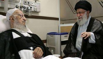 رهبر انقلاب از آیتالله مکارم شیرازی عیادت کردند