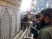 راهکار جلوگیری از شیوع کرونا در حرم حضرت معصومه +عکس