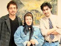 تیپ جالب شهاب حسینی و بهرام رادان ۱۵سال پیش +عکس