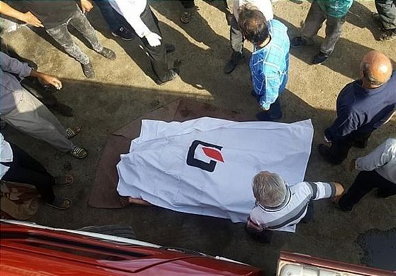 مرگ راننده در اتاقک دربسته خاور + تصاویر