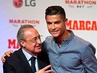 رونالدو به جای مراسم توپ طلا کجا رفت؟ +عکس