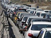 ترافیک سنگین در محور ایلام-مهران