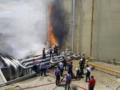 علت حادثه آتشسوزی نیروگاه سمنان در دست بررسی است