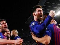 مسی آقای گل لیگ قهرمانان اروپا شد