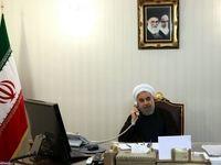 تماس تلفنی رییس جمهور با امیر قطر