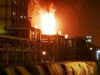 مهار کامل آتش سوزی در پتروشیمی امیر کبیر ماهشهر