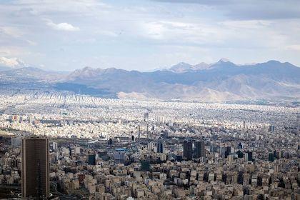 تهران پاک از فراز برج میلاد +تصاویر