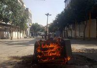 اغتشاشگران اموال مردم را به آتش کشیدند +تصاویر