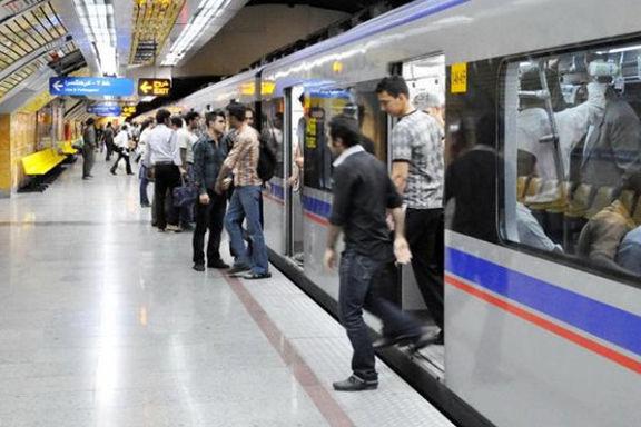 سرویسدهی رایگان مترو همزمان با راهپیمایی ۲۲بهمن