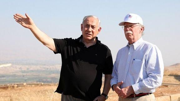 واکنش نتانیاهو به برکناری بولتون