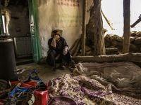 سقفهای باران زده جرگلان فرو ریخت +عکس