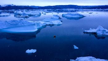 افزایش نابودی یخهای گرینلند +تصاویر