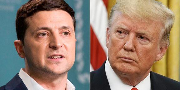 انتشار متن گفتوگوی جنجالی ترامپ و زلنسکی