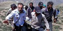 سقوط مرد روستایی در ارتفاعات طالقان