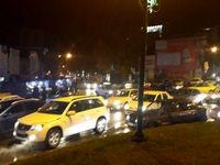 هجوم مردم وحشت زده به خیابانها در کرمانشاه +عکس