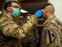 آزمایش کرونا از ارتش آمریکا