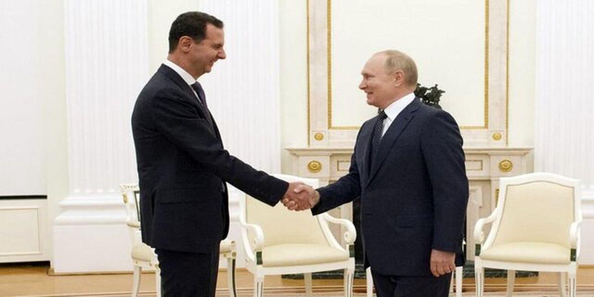 اسد و پوتین در کرملین دیدار کردند