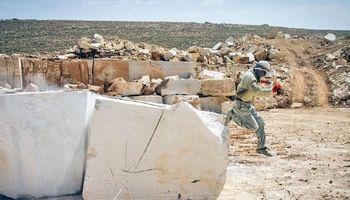 ۷۰درصد ظرفیت صنعت سنگ بدون استفاده مانده است