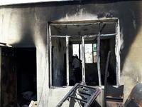 کشف جسد ۴نفر حین اطفای آتشسوزی +تصاویر