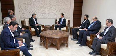 دیدار ولایتی با بشار اسد در دمشق