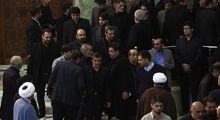 چهرههای حاضر در مراسم هفتمین روز درگذشت آیتالله هاشمی رفسنجانی +عکس