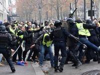 ادامه تظاهرات در فرانسه +فیلم