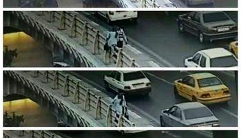پلیس راهور فرشته نجات یک دختر تهرانی شد +عکس