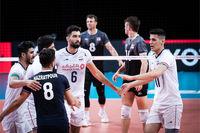 لیگ ملت های والیبال ایران با قدرت از سد آمریکا گذشت