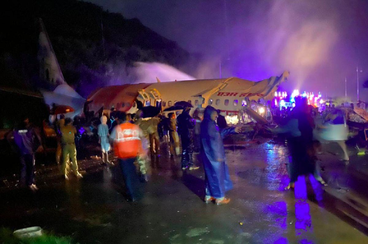 سقوط هواپیمای هند