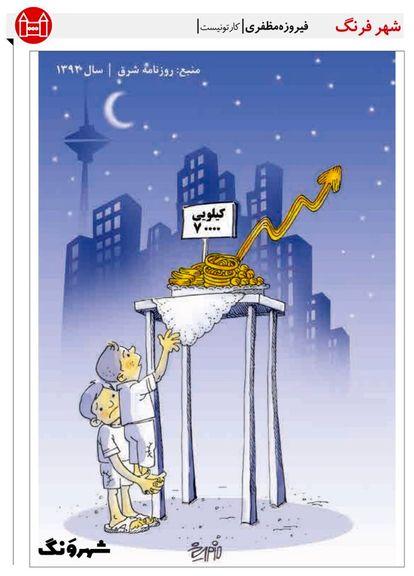 زولبیا هم به آرزوها پیوست! (کاریکاتور)