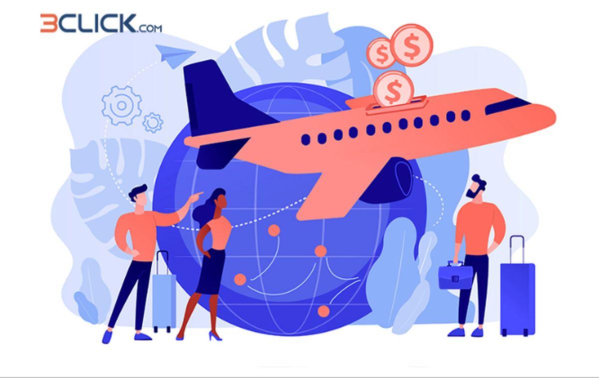 سه کلیک تا رزرو ارزان بلیط هواپیما شیراز