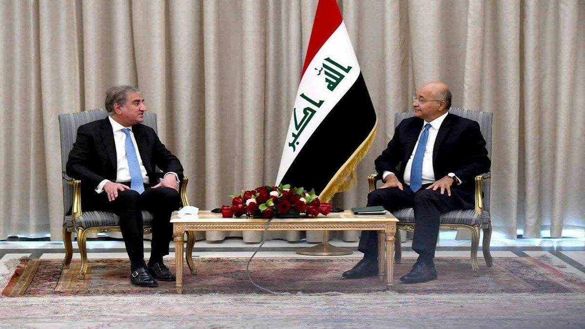رییس جمهور عراق و وزیر خارجه پاکستان دیدار کردند