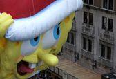 رژه روز شکرگزاری با حضور شخصیتهای محبوب کارتونی +تصاویر