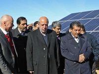 افتتاح بزرگترین نیروگاه خورشیدی کشور در همدان +عکس