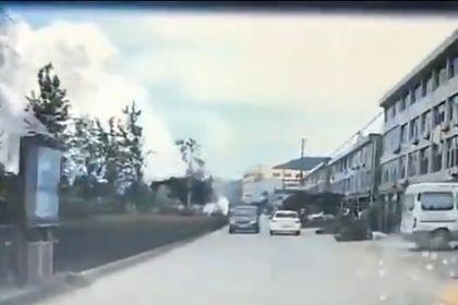 انفجار یک کامیون نفتکش در «چهجیانگ» چین +فیلم