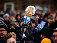 آغاز رسمی کارزار انتخاباتی برنی سندرز +تصاویر